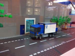 LEGO maquette Unilever