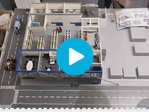 LEGO maquette Unilever video