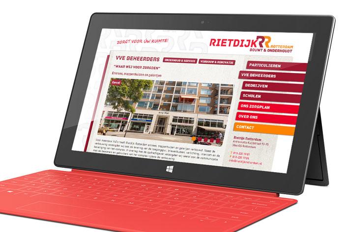 Rietdijk Rotterdam website