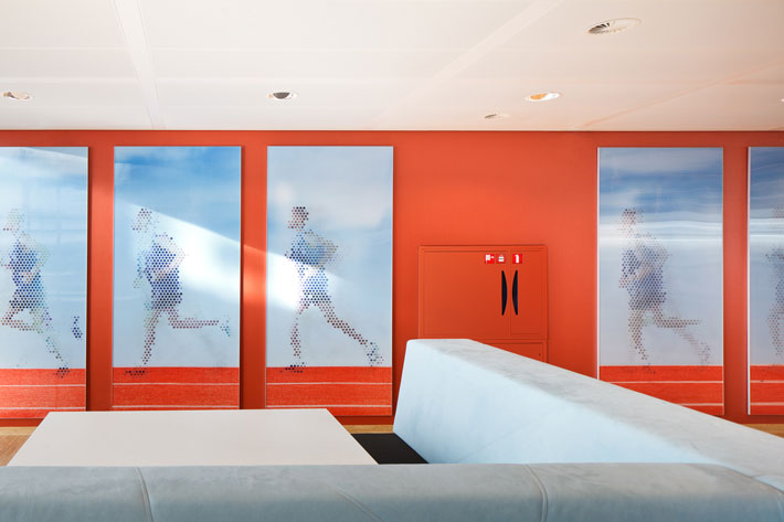 Asics Interieur