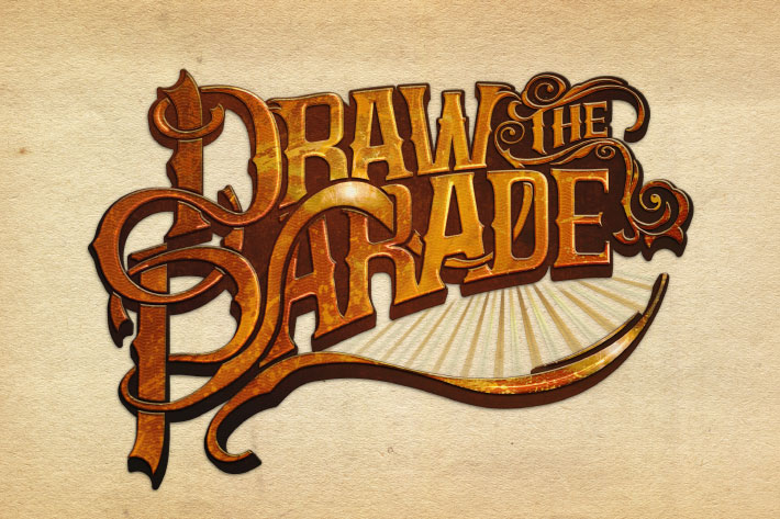 Draw the Parade logo