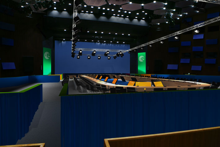 ESA conferentie visualisatie