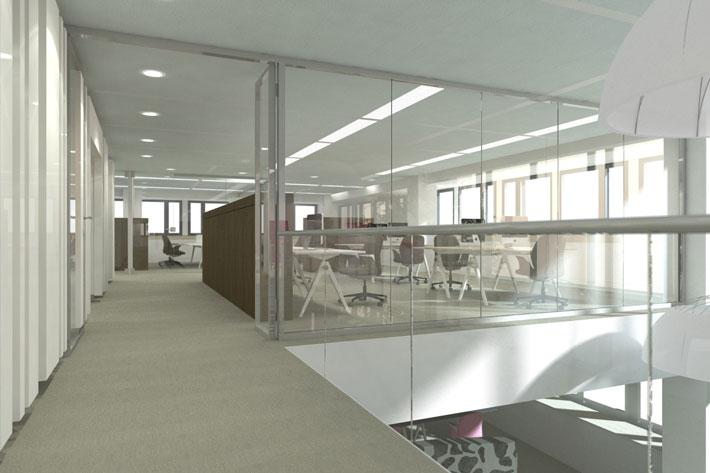FrieslandCampina interieur visualisatie