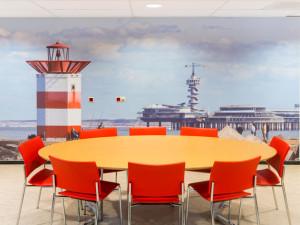 Haagse stranden in Haga Ziekenhuis