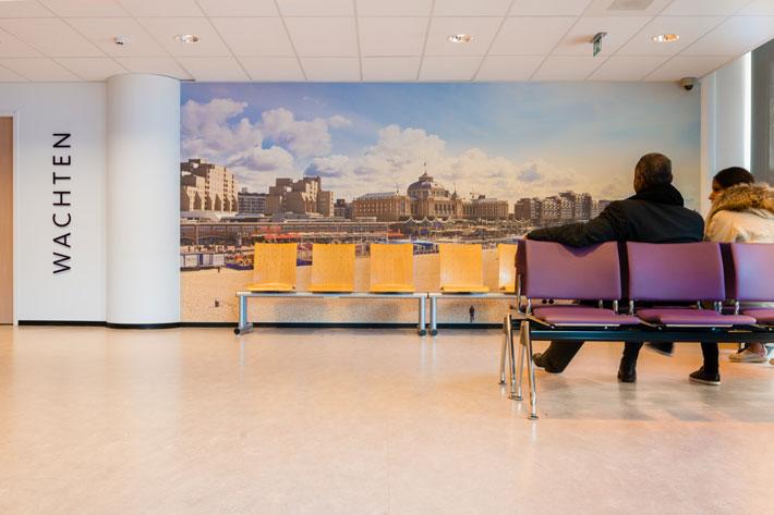 Haga Ziekenhuis Interieur
