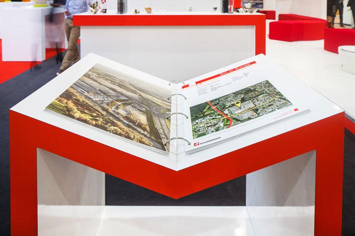 Heembouw Logistica 2012 beursstand