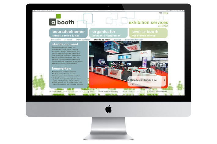 Exhibition Booth Website : Horizon creative a booth website