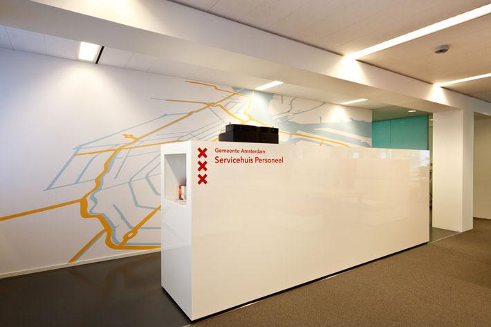 SHP Amsterdam Interieur