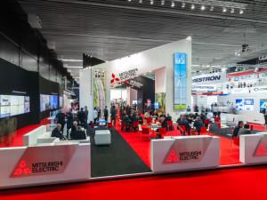 Mitsubishi Electric op ISE 2014