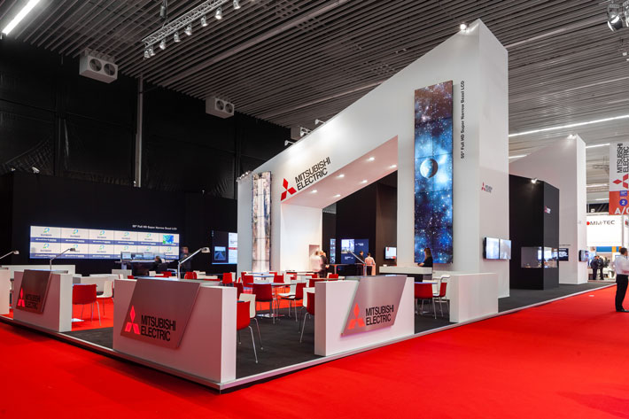 Horizon Creative Mitsubishi-Electric ISE 2014