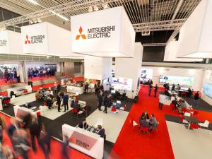 Standontwerp Mitsubishi op ISE 2016
