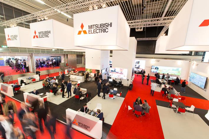 Standontwerp Mitsubishi Electric