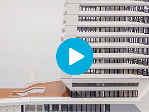 Lego maquette Porcellis gebouw