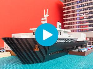 LEGO maquette Schmidt Zeevis