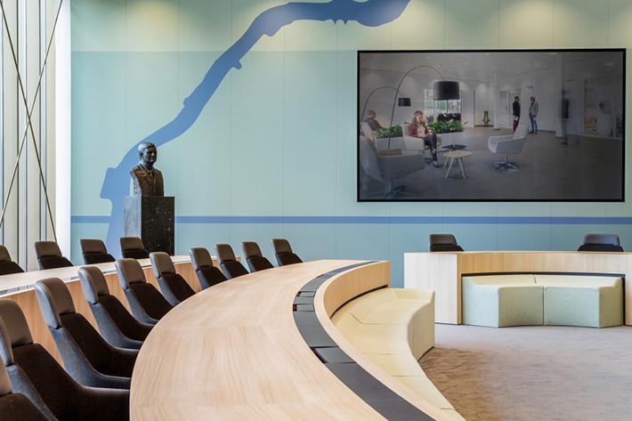Interior acoustic graphics