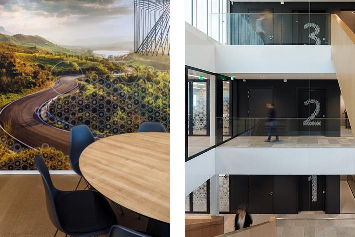 Horizon Creative interior graphics and signing designShimano