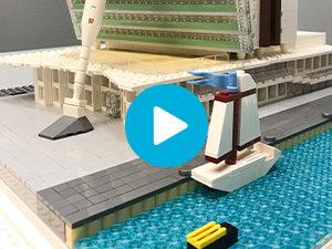 LEGO maquette KPN
